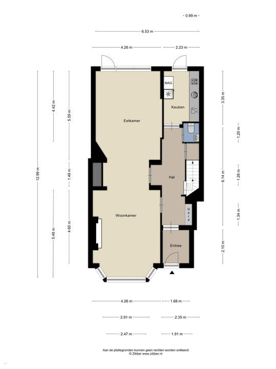Van Alkemadelaan 1 a, Den Haag floorplan-0