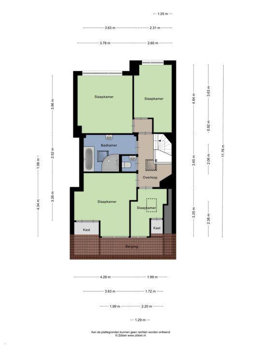 Van Alkemadelaan 1 a, Den Haag floorplan-3