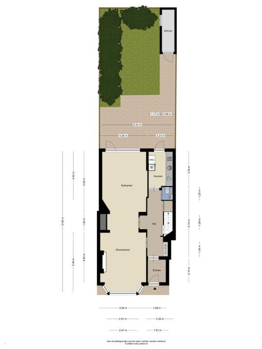 Van Alkemadelaan 1 a, Den Haag floorplan-1