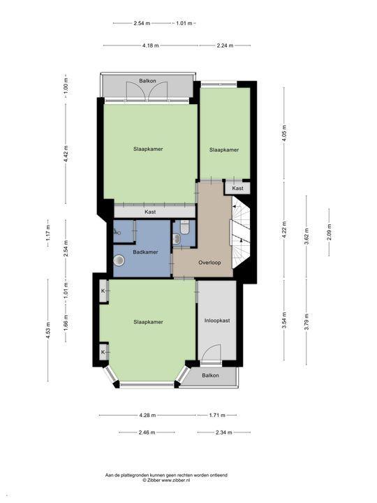 Van Alkemadelaan 1 a, Den Haag floorplan-2