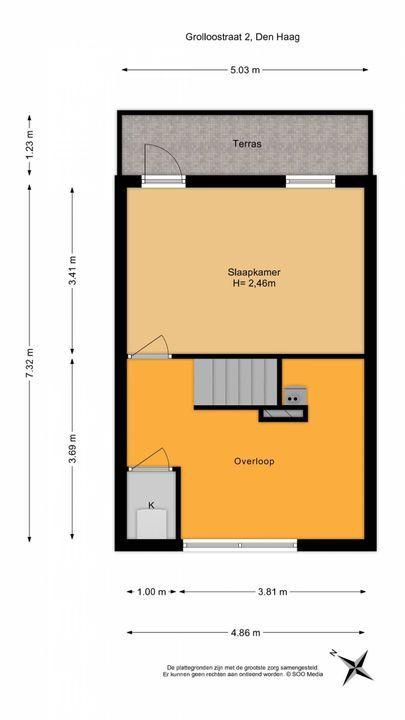 Grolloostraat 2, Den Haag floorplan-2