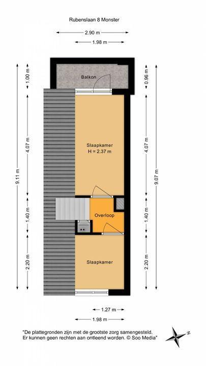 Rubenslaan 8, Monster floorplan-1