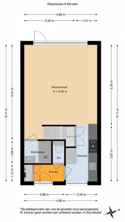 Rubenslaan 8, Monster floorplan-0