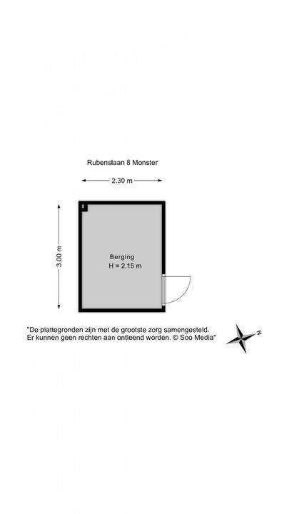 Rubenslaan 8, Monster floorplan-3