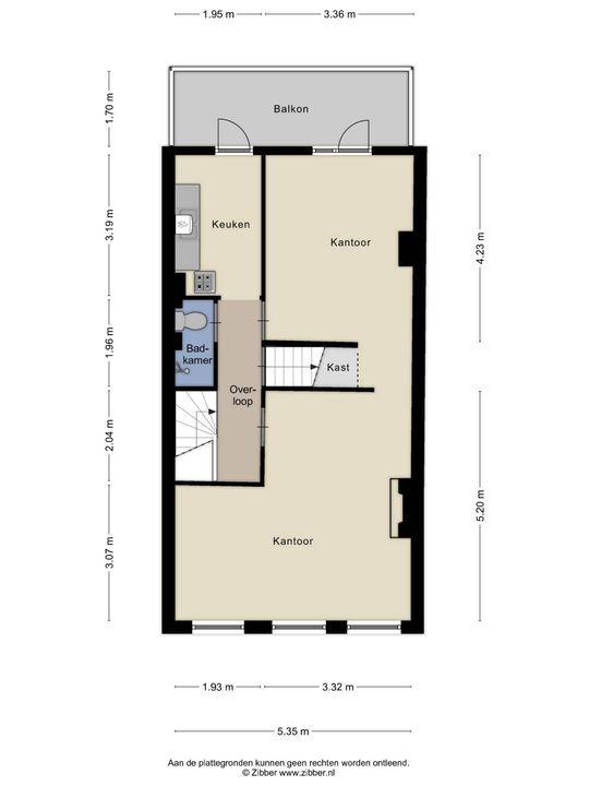 Malakkastraat 110, Den Haag floorplan-2
