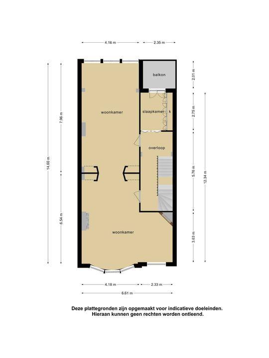 Groot Hertoginnelaan 17, Den Haag floorplan-1