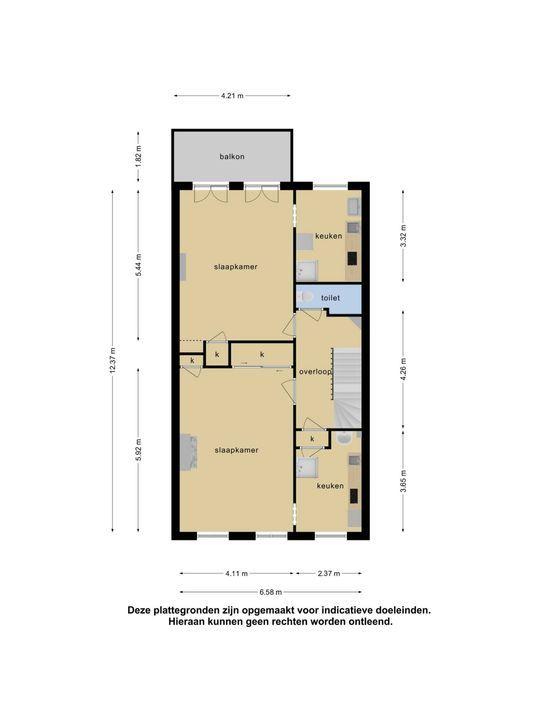 Groot Hertoginnelaan 17, Den Haag floorplan-2