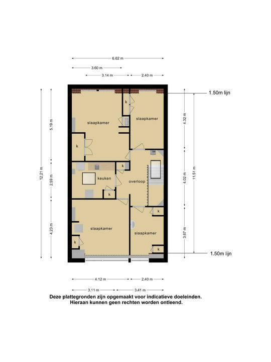 Groot Hertoginnelaan 17, Den Haag floorplan-3
