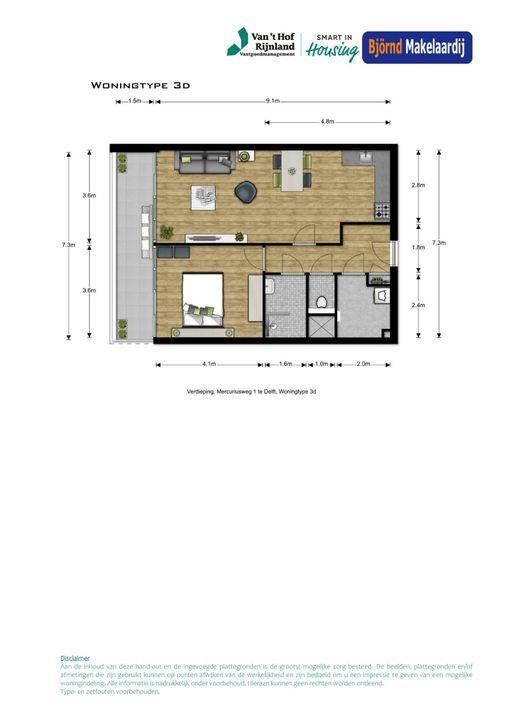 Bouwnummer 41 ong, Delft plattegrond-0