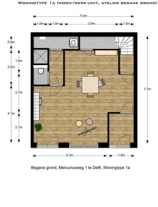 , Delft plattegrond-0