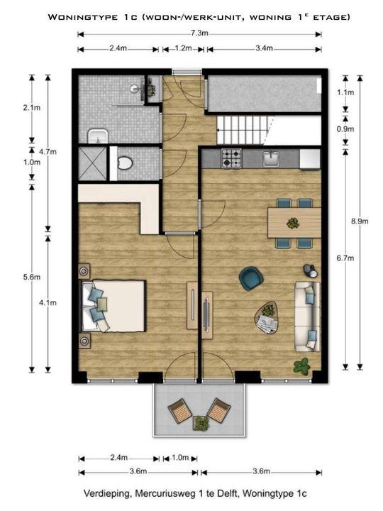 , Delft plattegrond-4