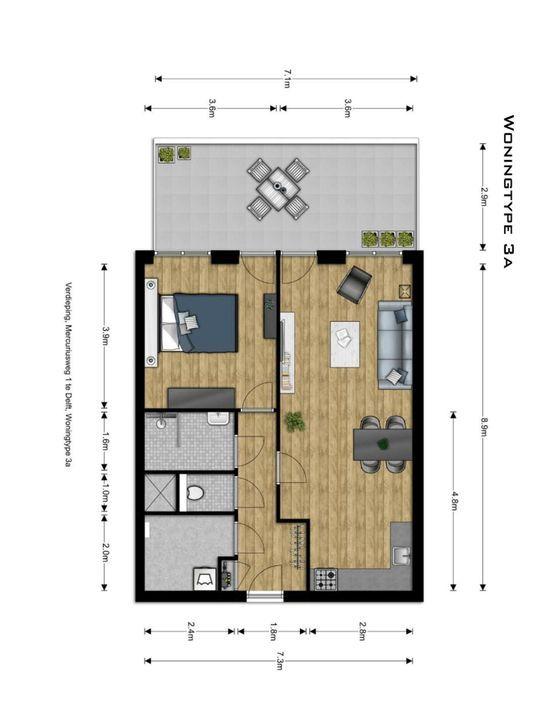 , Delft plattegrond-6