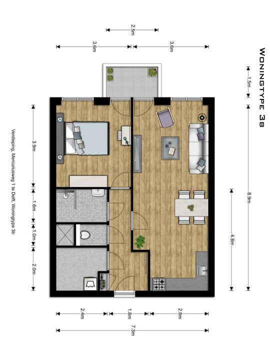 , Delft plattegrond-7