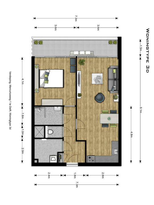 , Delft plattegrond-9