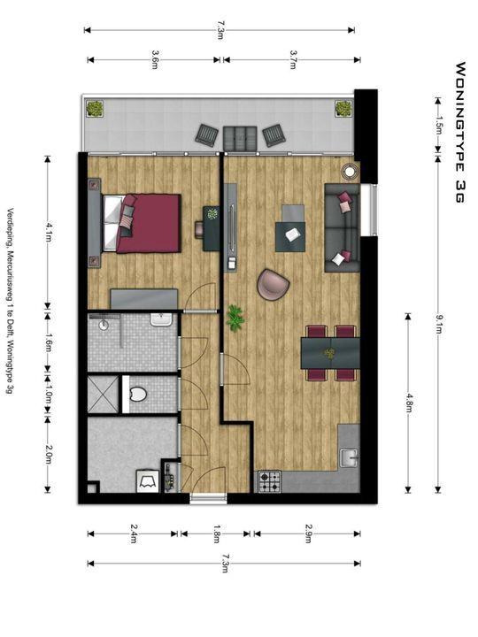 , Delft plattegrond-12