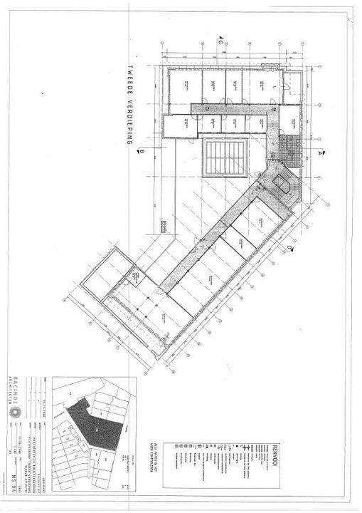 Hooikade 13, Delft plattegrond-2