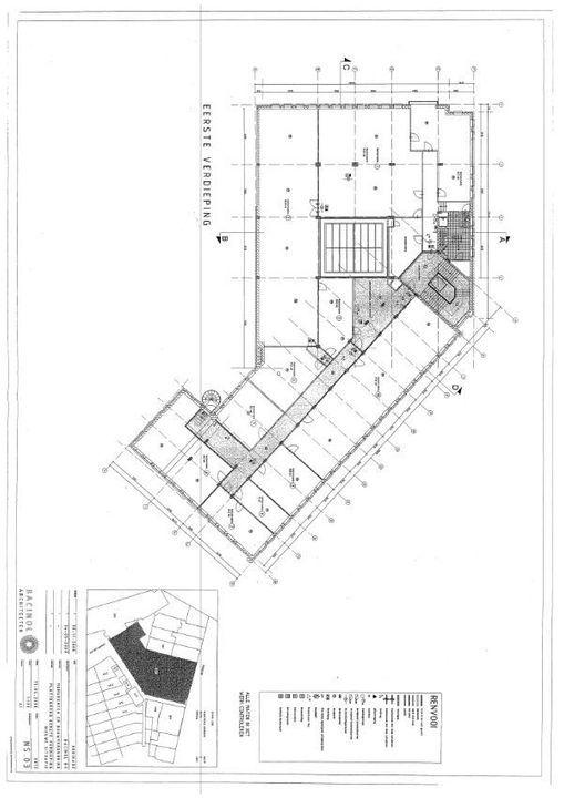 Hooikade 13, Delft plattegrond-1