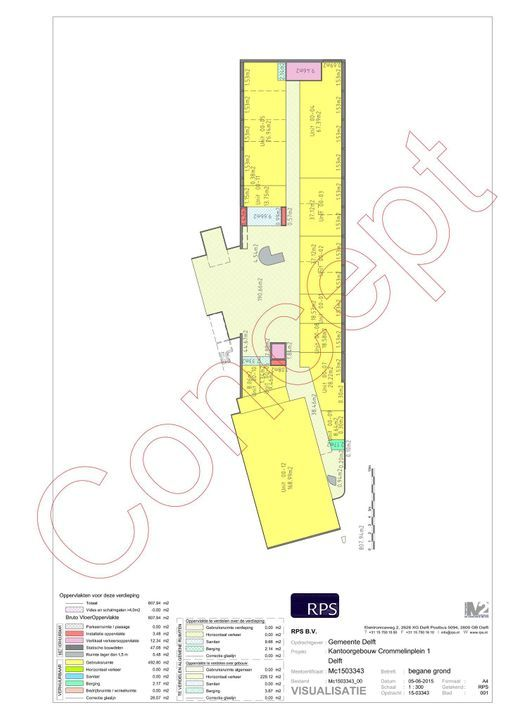 Hooikade 13, Delft plattegrond-7