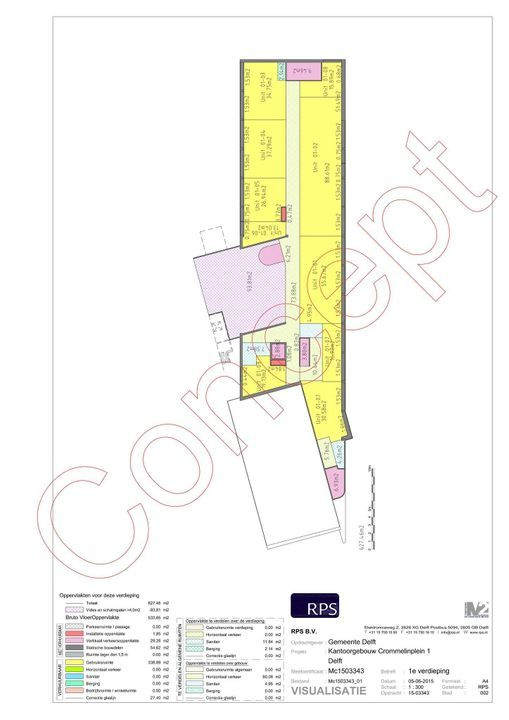 Hooikade 13, Delft plattegrond-8