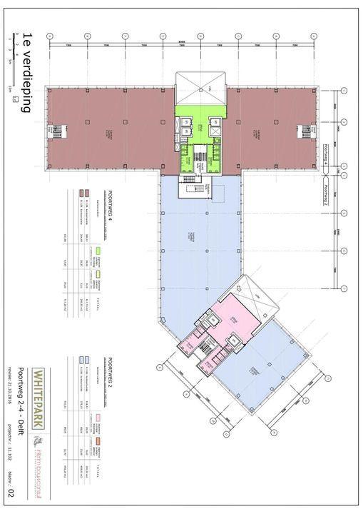 Poortweg 2 4,6,8, Delft plattegrond-2
