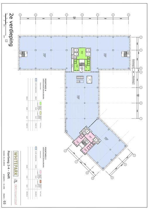 Poortweg 2 4,6,8, Delft plattegrond-3