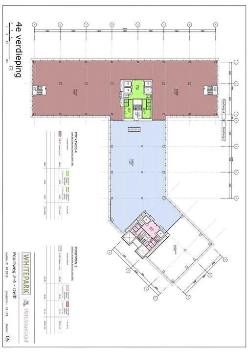 Poortweg 2 4,6,8, Delft plattegrond-5