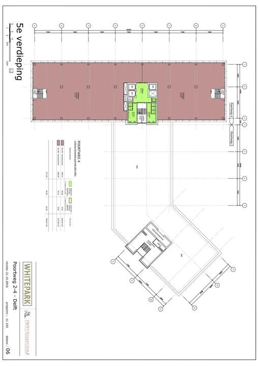 Poortweg 2 4,6,8, Delft plattegrond-6
