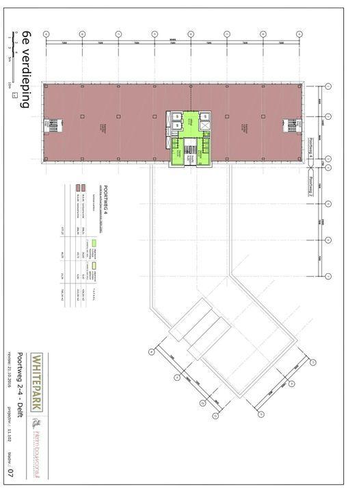 Poortweg 2 4,6,8, Delft plattegrond-7