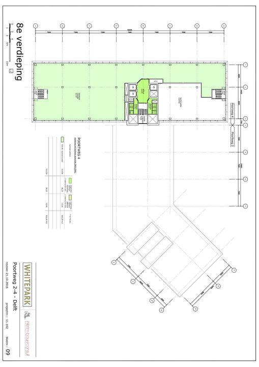 Poortweg 2 4,6,8, Delft plattegrond-9
