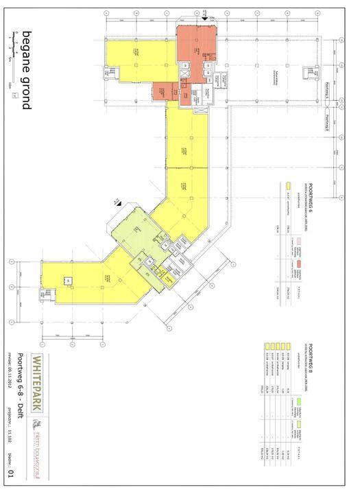 Poortweg 2 4,6,8, Delft plattegrond-11