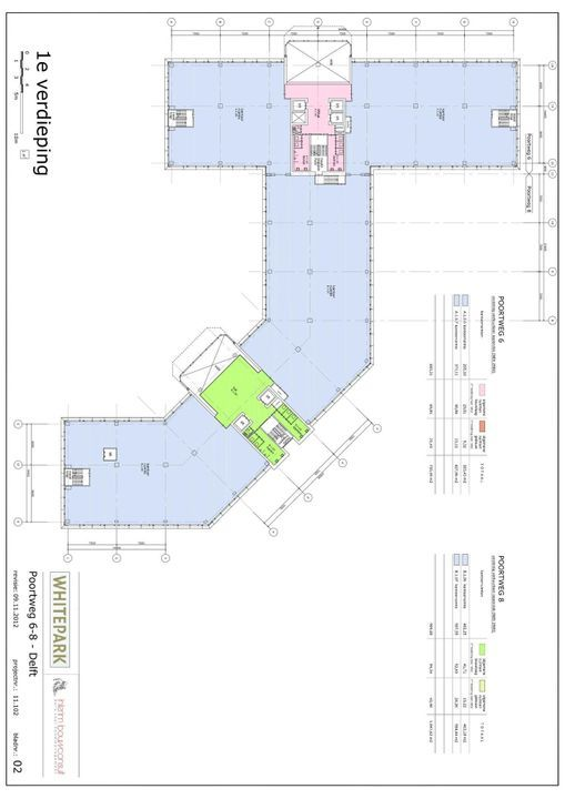 Poortweg 2 4,6,8, Delft plattegrond-12