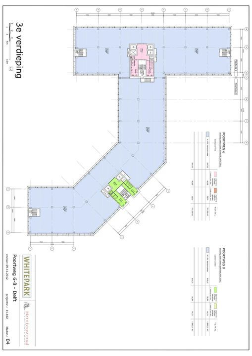 Poortweg 2 4,6,8, Delft plattegrond-14