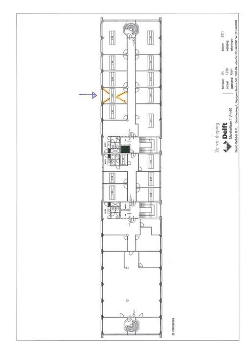 Marshalllaan 2 ., Delft plattegrond-0