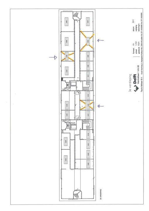 Marshalllaan 2 ., Delft plattegrond-1