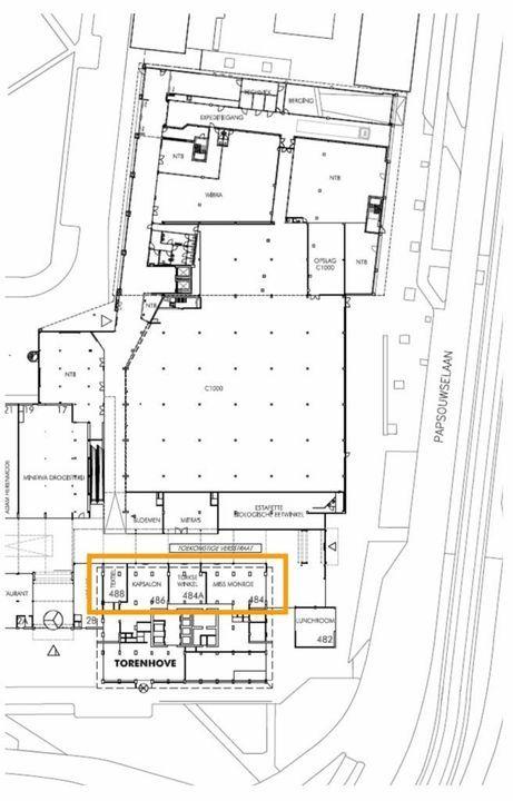Papsouwselaan 486, Delft plattegrond-1