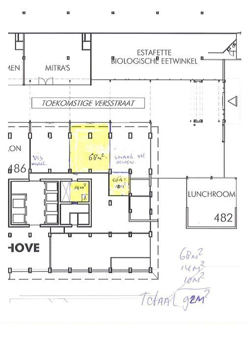 Papsouwselaan 486, Delft plattegrond-2