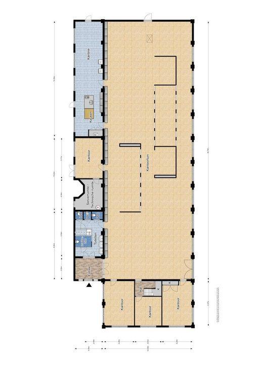 Prof. Snijdersstraat 5, Delft plattegrond-0