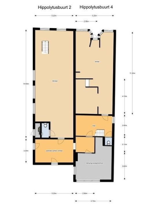 Hippolytusbuurt 4, Delft plattegrond-0