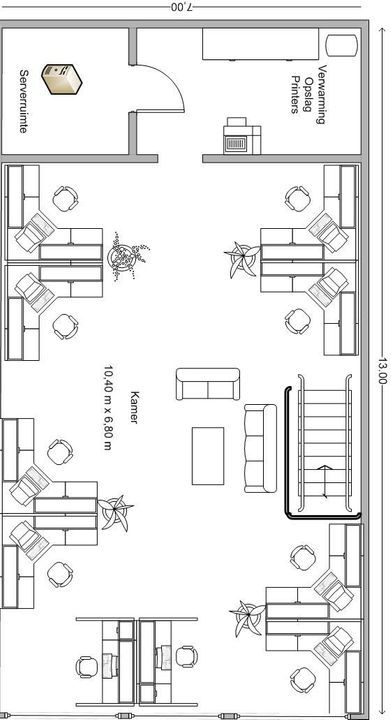 Distributieweg 60, Delfgauw plattegrond-0