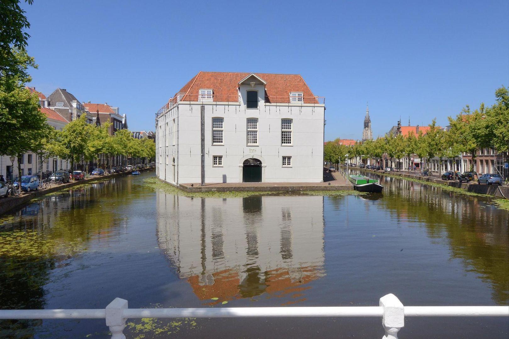 Achterom 1 3 en 5, Delft foto-59