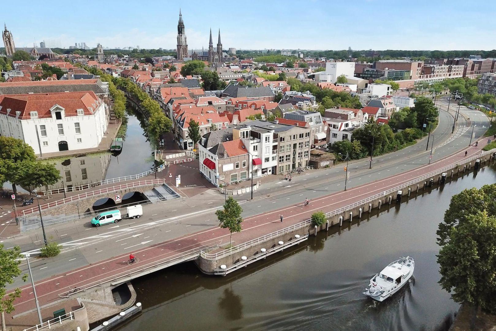 Achterom 1 3 en 5, Delft foto-60