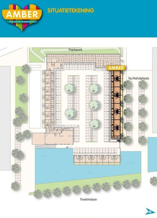 Taj Mahalplaats 23, Delft plattegrond-1