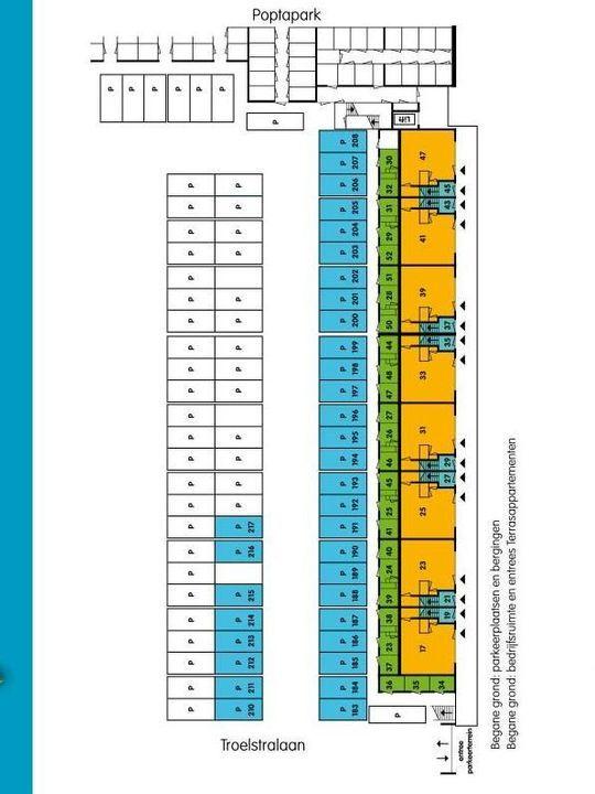 Taj Mahalplaats 23, Delft plattegrond-3