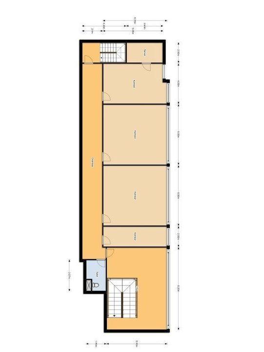 Lagosweg 63, Delft plattegrond-0