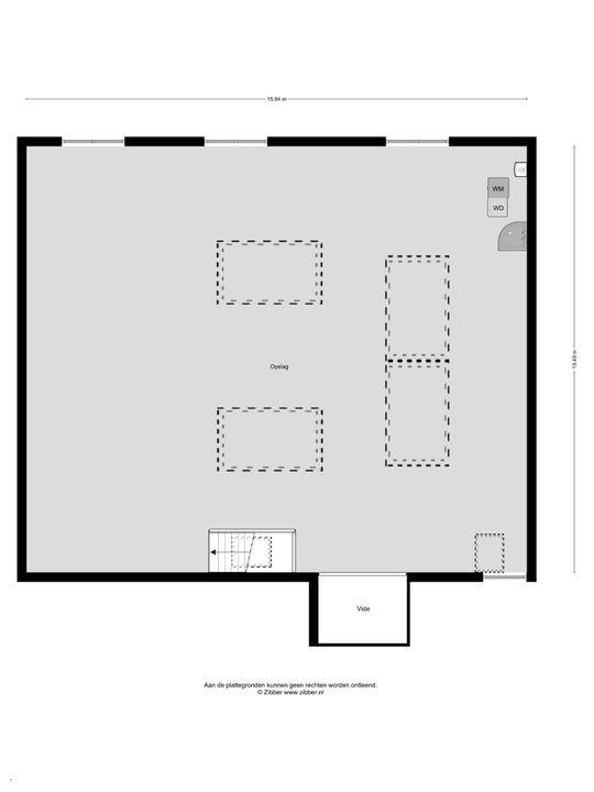 Ampereweg 12, Delft plattegrond-4