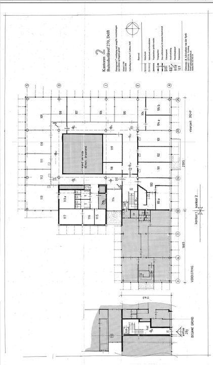 Buitenhofdreef 270, Delft plattegrond-0