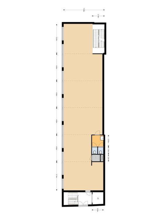 Scheepmakerij 12, Delft plattegrond-6