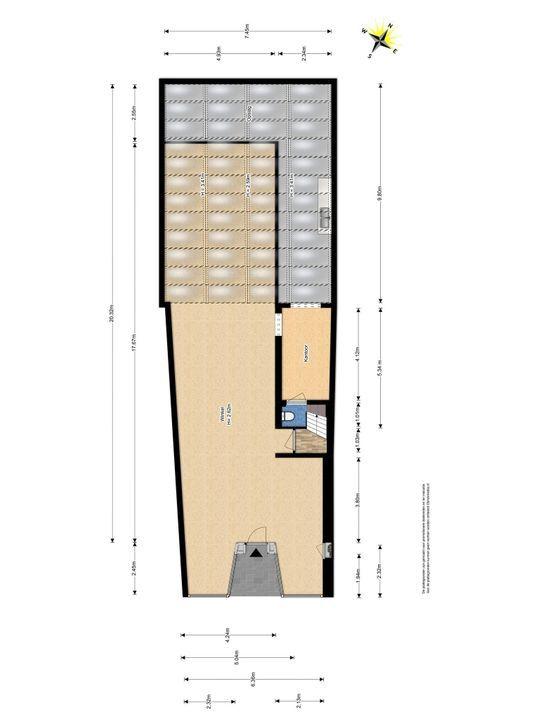 Voldersgracht 22, Delft plattegrond-0