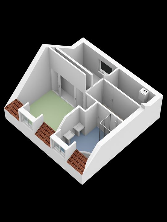 Molslaan 2 2A, Delft plattegrond-4