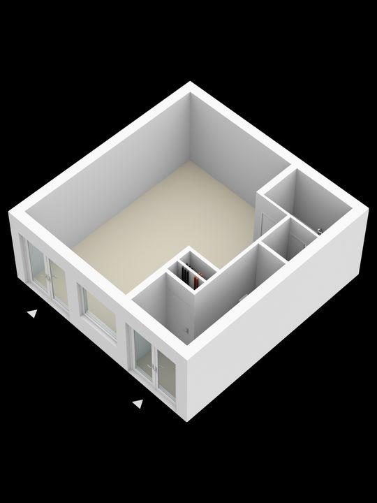 Molslaan 2 2A, Delft plattegrond-5
